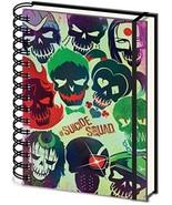 DC SR72151 Suicide Squad Skulls A5 Wiro Notebook - $11.81
