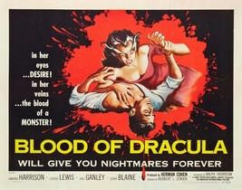BLOOD OF DRACULA (1957) - Horror B-Movie Classic - Buy 2 DVD's, Get 1 FR... - $7.49
