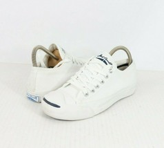 Jack Purcell Converse Womens 6 Rubber Toe Canvas Lace Up Sneakers Shoes ... - $59.35