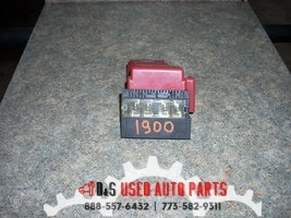2013 NISSAN SENTRA POSITIVE BATTERY TERMINAL WITH FUSES #1900