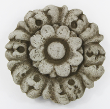 Rosette Concrete Wall Ornament  - $19.00