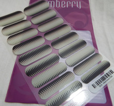 Jamberry Intertwined 0316 12U3 Heat Activated Nail Wrap Full Sheet - $15.98