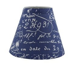 Urbanest Natural Linen 3-inch by 6-inch by 5-inch Linen Chanderlier Lamp Shade,  - $9.89