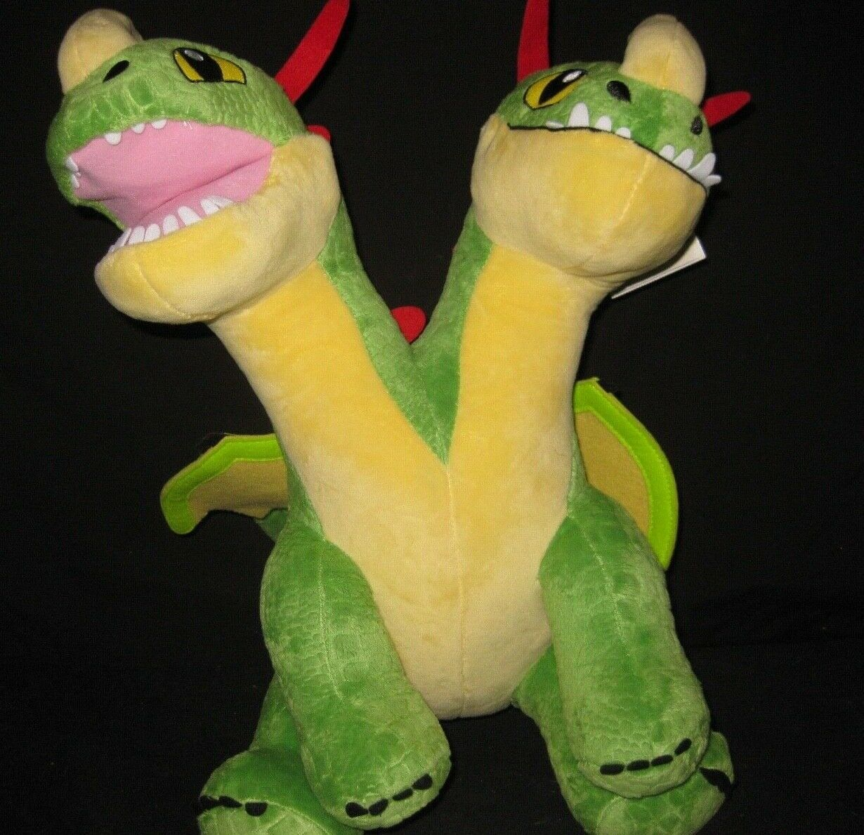 "Primary image for Build a Bear Barf & Belch How To Train Your Dragon Hidden World Plush 15"" New"