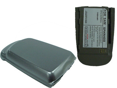 Sanyo N400 after market 3.6v 1400mAh gray extended battery-lot of 21 - FREE SHIP