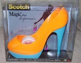 Scotch Magic Tape Dispenser Orange/Blue High He... - $6.88