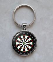 Darts Game Dart Board Dartboard Keychain - $14.00+