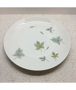 "MIKASA ELITE WINDFALL PATTERN, ROUND PLATTER, CHOP PLATE 12"", GREEN LEAVES  - $2.97"