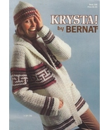Needlecraft Book- Krystal By Bernat 1977 No 199... - $5.99