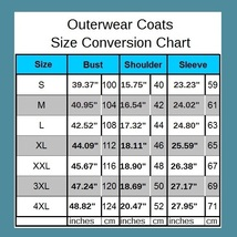 Men's Long Sleeve Hooded Front Zip Up Long Hair Faux Fur Coat Jacket w/ Pockets  image 4
