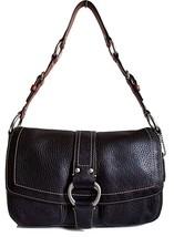 COACH Chelsea Black Pebble Leather Shoulder Bag... - $35.28