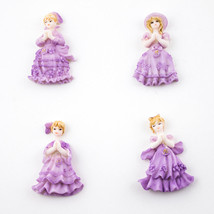 Lot of 24 Quinceanera Sweet 15 Purple Miniature Figurines Cute Party Favors - $4.99