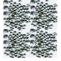 HOLOGRAM Round Nailheads  SILVER  6mm Hotfix  1gr - $4.72