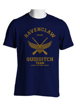 Chaser Old Ravenclaw Quidditch Team Men Tee S To 3 Xl Navy - $20.00