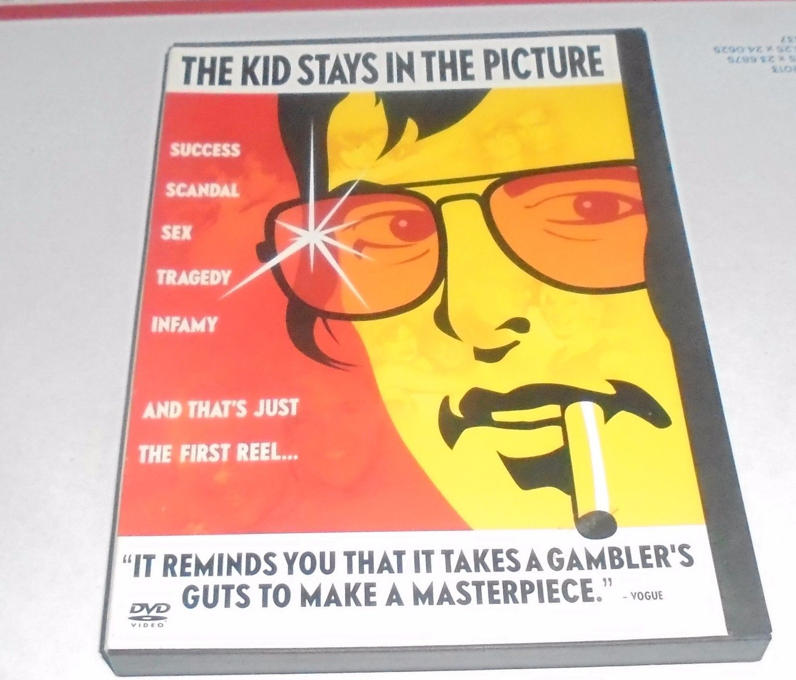 Kid Stays in the Picture DVD Robert Evans, Roy Radin, James Coburn Movie