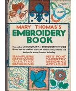 Needlecraft Book-  Mary Thomas's Embroidery Book  - $5.99