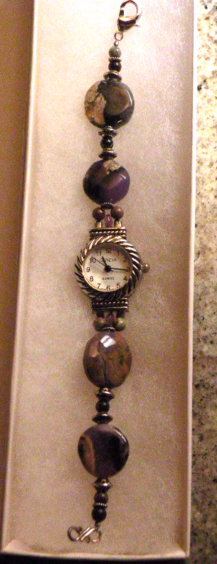 Gemstone Watch Handmade Great Gift Womans