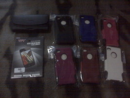 iPhone 4G CDMA 4S after market accessories combo  - $11.04