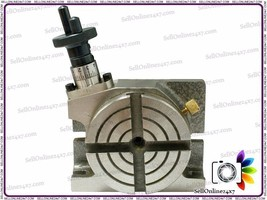 4 Inch - 100mm Mini Rotary Table - Milling Machines  Best Quality Tools ... - $90.08
