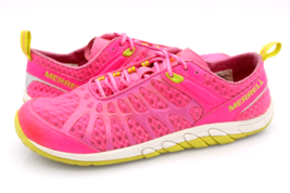 Merrell Womens 10 Pink Crush Glove Lace Up Athletic Sneakers Shoes EUR 41 - $31.99