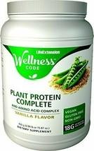 Life Extension Plant Protein Complete and Amino Acid Complex, Vanilla Fl... - $38.02