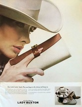 1965 Lady Buxton Print Ad Rootin' Tootin' Clutch Put Your Finger in the ... - $12.69