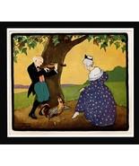 Artist Maud Trube Story Lithographic Art Lyrics Card Regal Records Co Ne... - $18.99