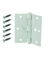 Everbilt 3-1/2 in. White Square Corner Security Door Hinge - $9.59