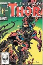 The Mighty Thor Comic Book #340 Marvel Comics 1984 Near Mint New Unread - $5.94