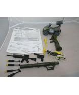 Hasbro Gi Joe Vintage Parts Weapons Lot ATV Anti-tank missile Grappling ... - $25.00