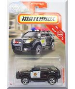 Matchbox - '12 Ford Explorer: MBX Rescue #8/20 - #58/100 (2019) *Black E... - $3.50