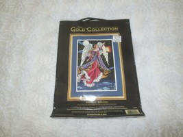 DIMENSIONS Gold Collection ANGELIC BEACON Needlepoint Kit #2449 - Sealed - $177.21