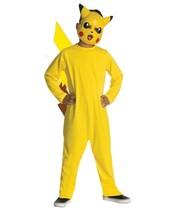 Rubie's Boys Pokemon Pikachu Child Costume Cosplay Halloween Large 10-12 - $11.87