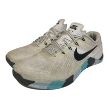 Nike Womens Metcon 3 Cross Training Shoes White 849807-101 Lace Up Low Top 7.5 M - $49.49