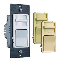 Incandescent Dimmer Switch, Preset, Wide-Slide, 700-Watt - $33.65