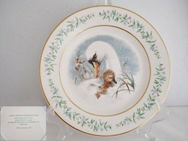Avon Gentle Moments Swan Collector Plate - $12.19