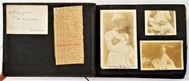 1919 antique PHOTOGRAPH ALBUM baby Robt GIDEON winslow wa AUTOMOBILE TRA... - $224.95
