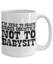 Babysitter Cross Country Coach Coffee Mug - $19.99