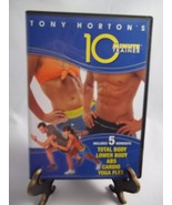 Tony Horton's 10 Minute Trainer (2 DVD Set,2008)Includes 5 Workouts-Used... - $14.60