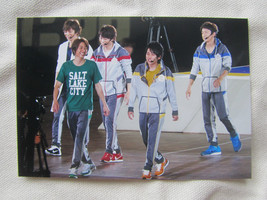 WakuWaku School of Arashi 2014 Ohno Nino Jun Aiba Sho Group Papa Live Ph... - $2.85
