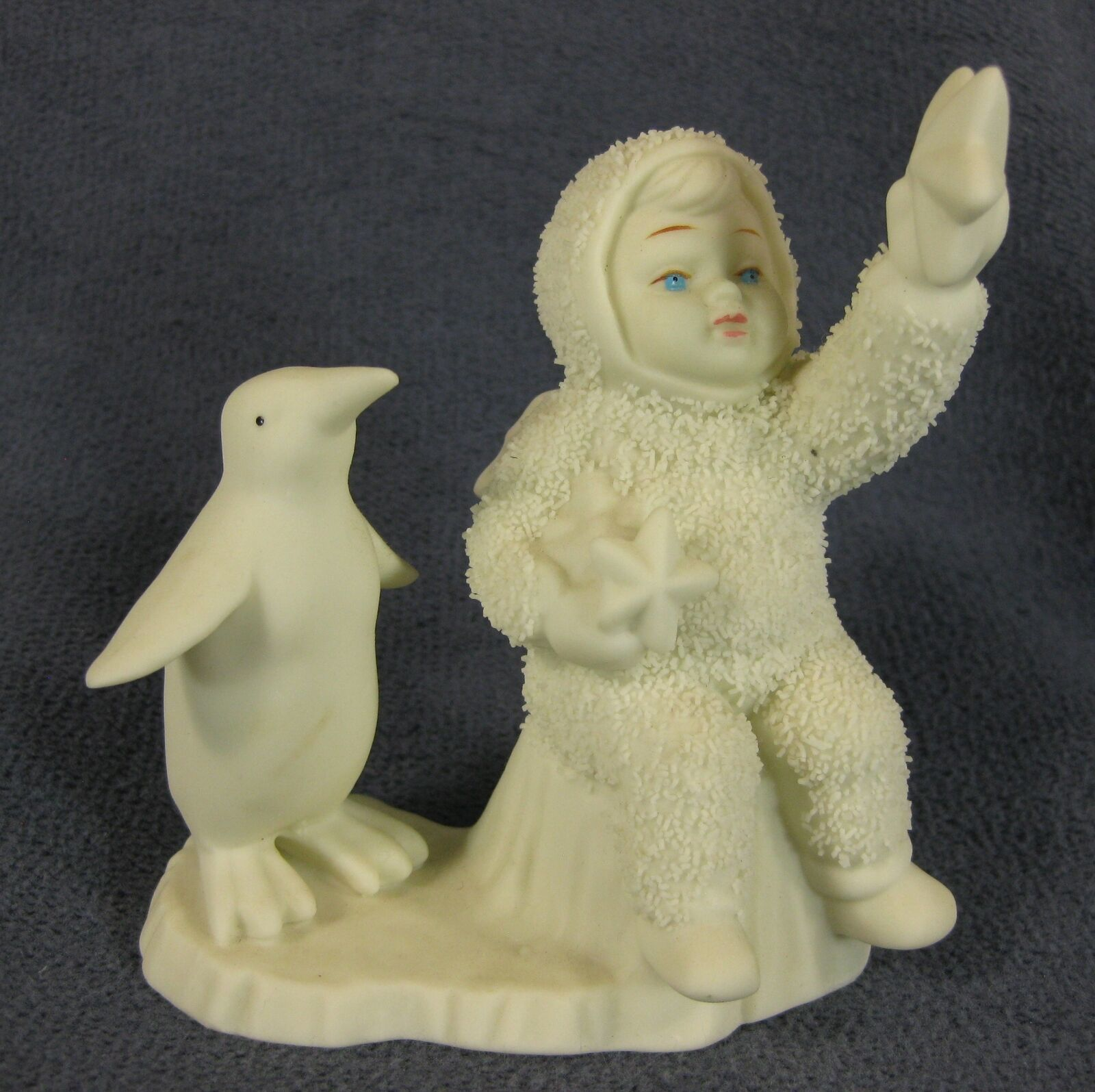 Primary image for Snowbabies Wishing On A Star 79430 Department 56 Figurine Retired 1994 No Box