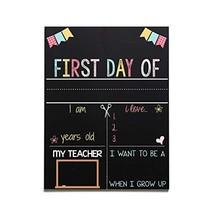 Reusable Back to School Chalkboard, Handmade In the USA