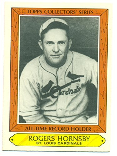 1985 Topps Rogers Hornsby #18 St. Louis Cardinals - Baseball Card