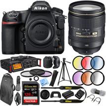 Nikon D850 DSLR Camera w/  24-120mm f/4G ED VR AF-S NIKKOR Lens Bundle - $4,642.30