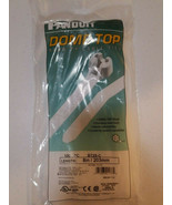 """8"""" 50lb Tensile Natural Nylon 6.6 Standard Dome-Top® Barb-Ty Cable Ties ... - $13.50"""