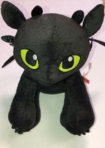 Build-A-Bear Toothless How to Train Your Dragon Plush Black Stuffed Animal - $8.82