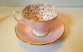 Royal Albert Rose Confetti Tea Cup and Saucer - $20.00
