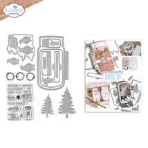 Mason Jar / Snow Globe Special Kit.  Elizabeth Craft Designs . NEW!