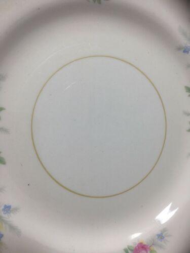 "10 Georgian Eggshell Cashmere Bread Plates 6"" Homer Laughlin image 5"