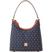 Dooney & Bourke Gretta Hobo Navy